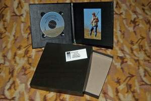 Client images on a CD packaged with a traditional print.